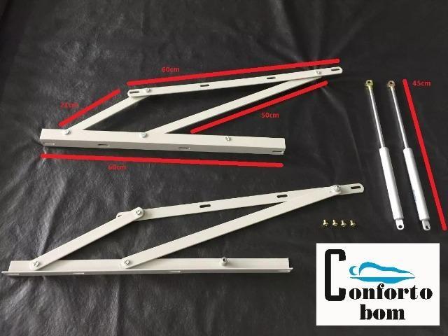 Kit articulador + pistão para cama box baú - Foto 2
