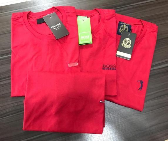Camisetas em Algodão Menegotti - Foto 6