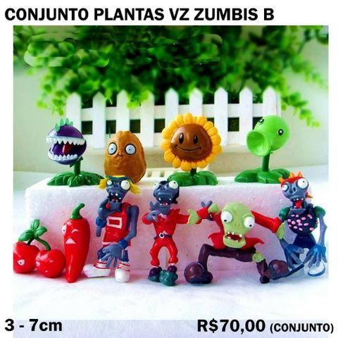 Conjunto Plantas vs Zumbis (4 Conjuntos Diferentes) Cada 70,00 - Foto 2