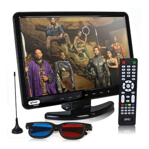 Tv Monitor 15,4 Pol KP-116 Knup Lcd Hd 1080p Dvd Player Hdmi Vga Usb - Foto 5