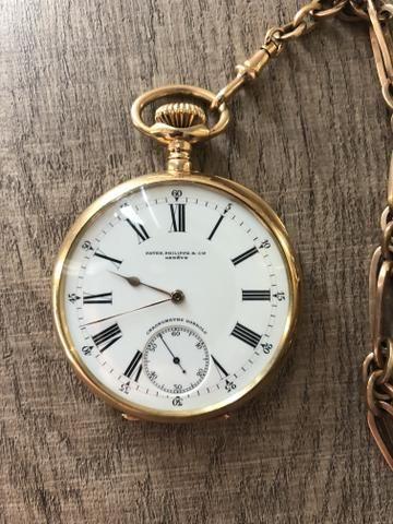 bef615f57b1 Relógio Patek Phillipe