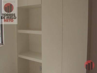 Apartamento com 1 dormitório para alugar, 45 m² por R$ 700/mês - Parangaba - Fortaleza/CE - Foto 4