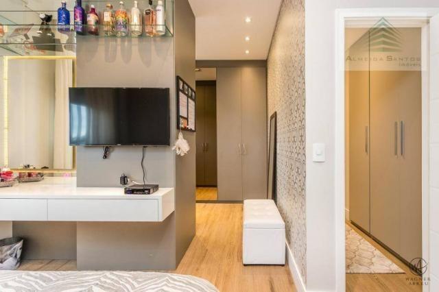 Apartamento à venda, 185 m² por r$ 1.549.000,00 - campo comprido - curitiba/pr - Foto 20