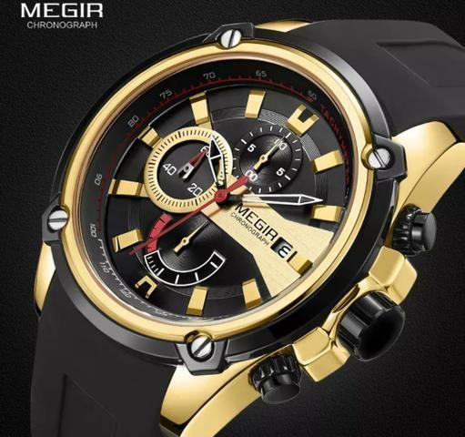 Relógio Multifuncional Original MEGIR - Foto 4
