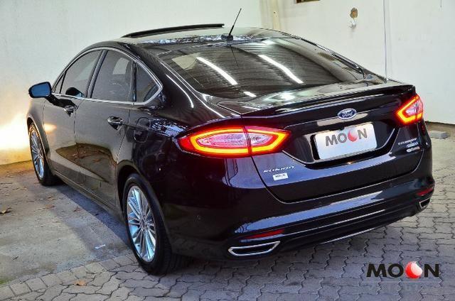 Ford Fusion 2.0 GTDi Titanium Teto solar revisado estado excelente!! - Foto 13