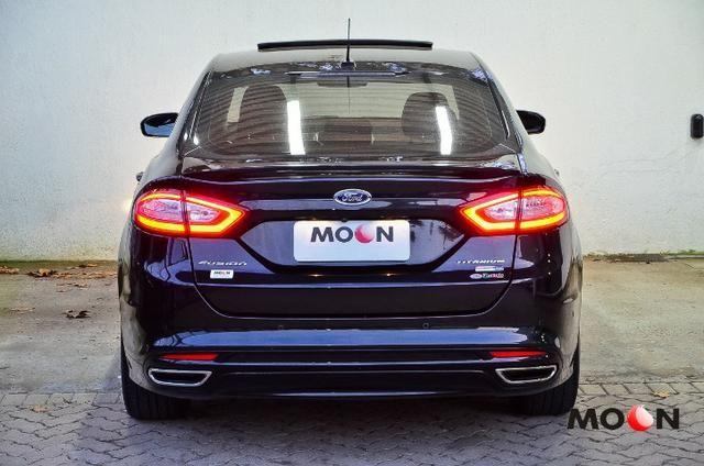 Ford Fusion 2.0 GTDi Titanium Teto solar revisado estado excelente!! - Foto 11