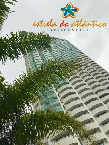 Estrela do Atlântico Apto 59m² 2/4 sendo 1 suite - Ponta Negra / Andar Alto - Foto 2