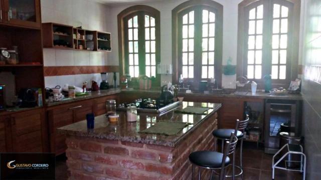 Casa residencial à venda, carangola, petrópolis - ca0002. - Foto 13