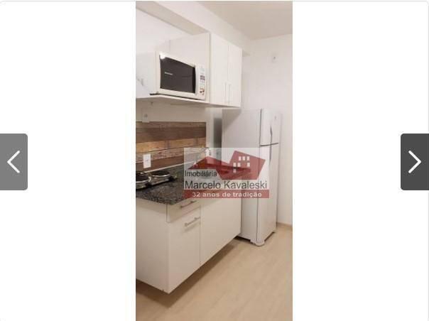Apartamento com 1 dormitório para alugar, 38 m² por r$ 2.000,00/mês - ipiranga - são paulo - Foto 3