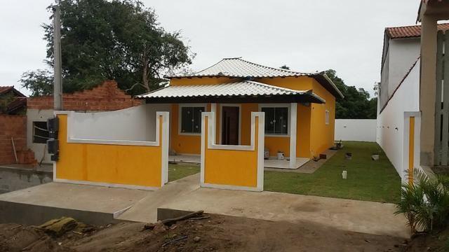 Iguaba - Linda casa a 100m da Rodovia e Lagoa - Foto 2