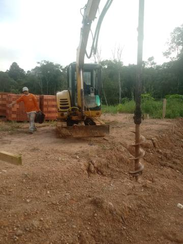 Terraplanagem escavação bacacheri