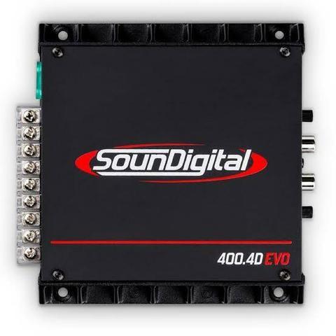 Módulo Soundigital amplificador Sd400 4 canais