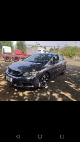 Honda Civic LXR 2.0 Flex - 14/15 - Automático, completo - Foto 2