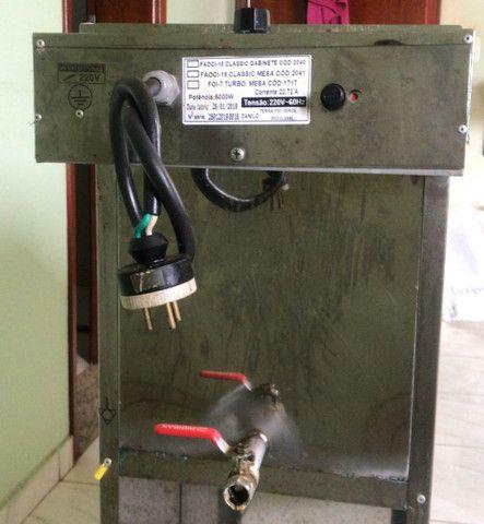 Fritadeira elétrica profissional Água e óleo 18 litros - Foto 4