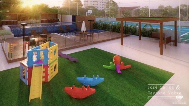Repasse 130m² Eco Oceania! Apartamento com 3 suítes - Vista mar - Varanda gourmet - Jardim - Foto 9