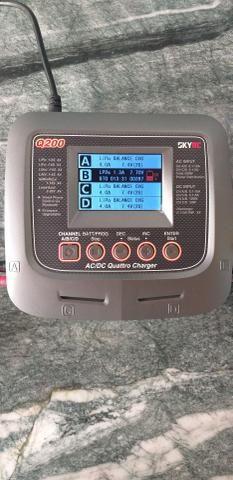 Carregador Bateria Lipo Q200 SkyRC NOVINHO - Foto 4