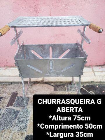 CHURRASQUEIRAS DESMONTÁVEIS A PARTIR DE 120,00 REAIS  - Foto 4