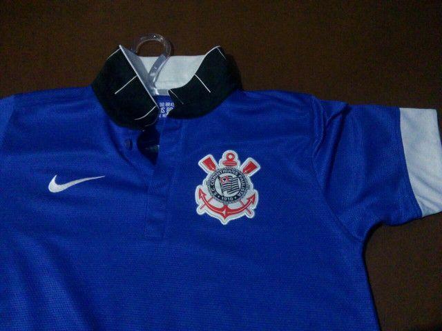 Camisa infantil Corinthians nike - Foto 2