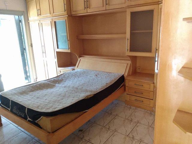 Alugo Apartamento 2 dormitórios, banheiro social com hidro, semi mobiliado - Foto 11
