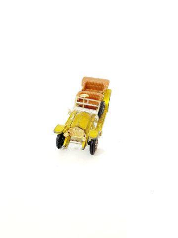 Calhambeque Rollsroyce Silverghost Retrô Miniatura - Coleção Carros Antigos <br>