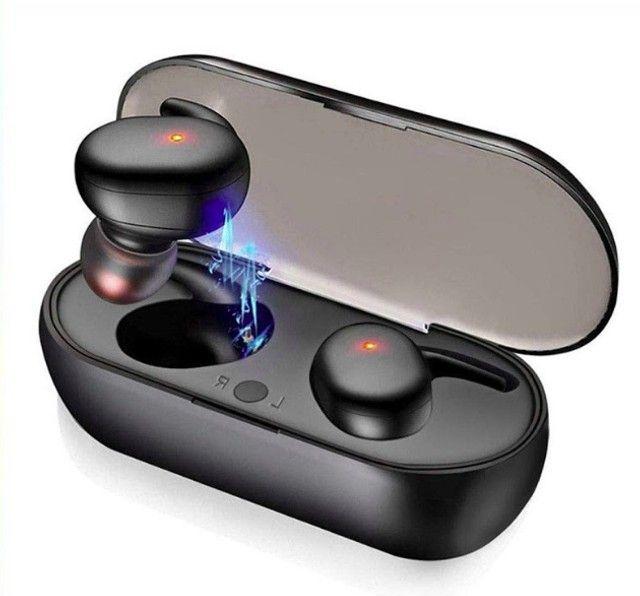 Fone sem fio Bluetooth 5.0 Y30 ideal para esportes exercícios e para dar de presente - Foto 5