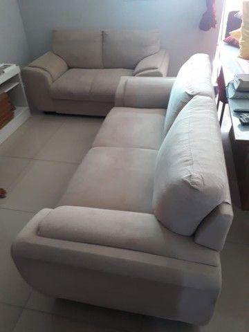 Jogo de sofá suede 2 e 3 lugares - Foto 6