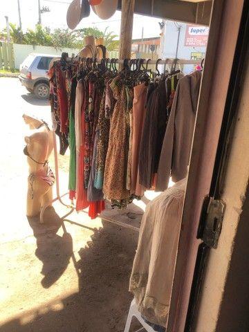 Vendo loja de roupas novas e usadas