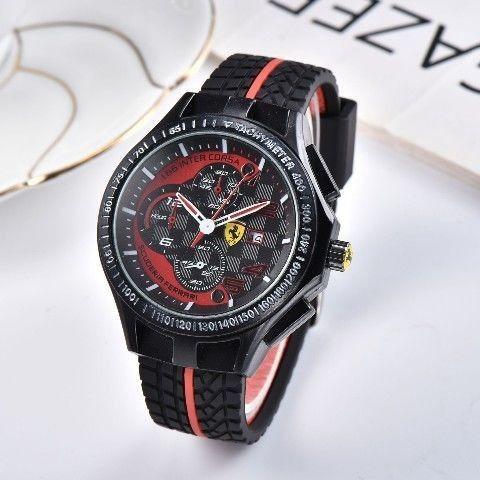 Relógio Masculino Ferrari Original - Foto 2