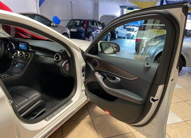 Mercedes Benz C 180 2019 1.6 Gasolina Único Dono Branca Estudo Troca e Financio - Foto 13