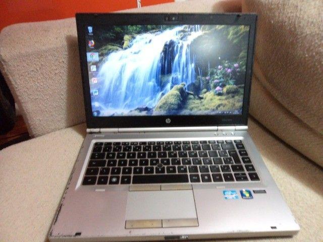 notebook Elitebook hp 8gb hd-320 core i5 2.60ghz vel de i7 R$1.500 tratar 9- * - Foto 5