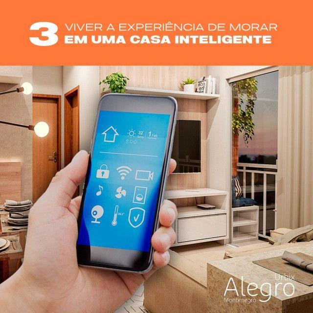 Novo Alegro Montenegro - Apartamento inteligente na Augusto Montenegro - Foto 10