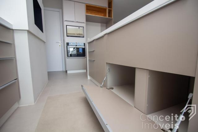 Apartamento à venda com 3 dormitórios em Jardim carvalho, Ponta grossa cod:391691.001 - Foto 18
