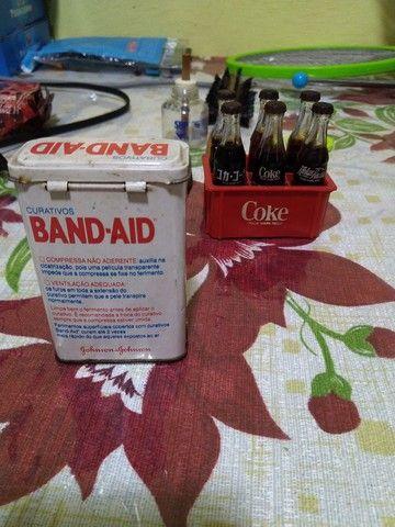 Lata de Band-aid antiga !!!! - Foto 2