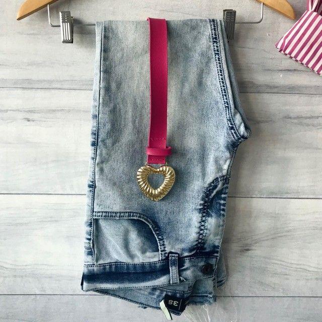 Calça Jeans Clara | Cintura Alta | Seminova | Brechó  - Foto 5