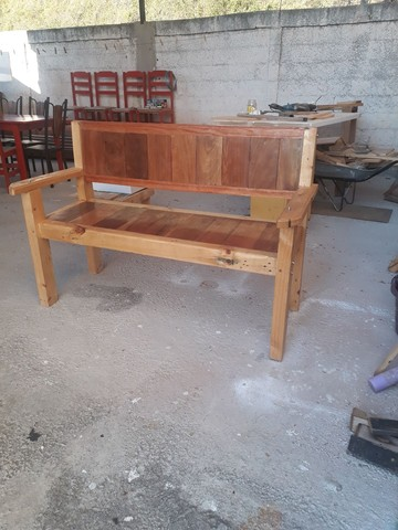 Banco de madeira  - Foto 5