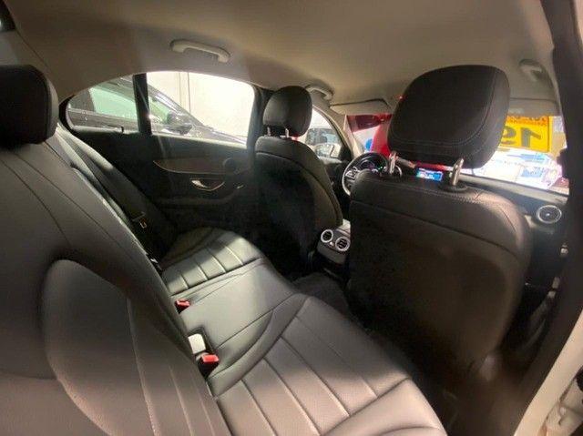 Mercedes Benz C 180 2019 1.6 Gasolina Único Dono Branca Estudo Troca e Financio - Foto 16