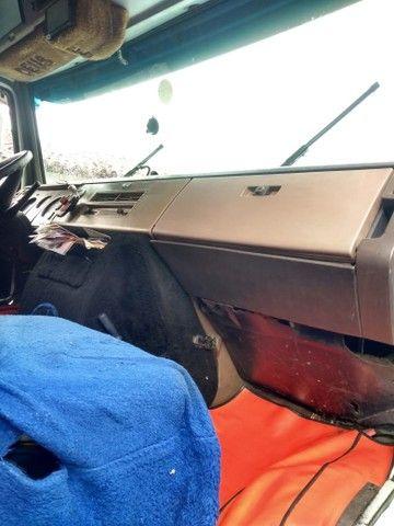 Mercedes 1630 + carreta baú de 2 eixos 28 paletes  - Foto 6