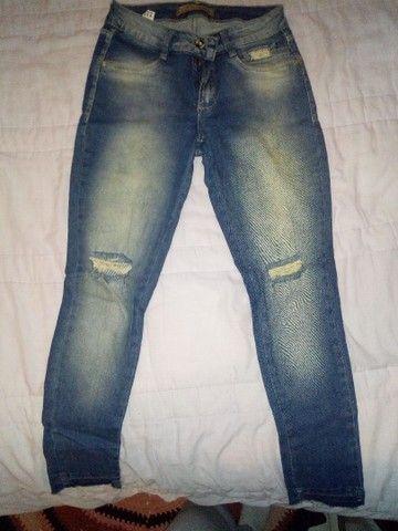 Jaqueta jeans Gap M e calça empório 38