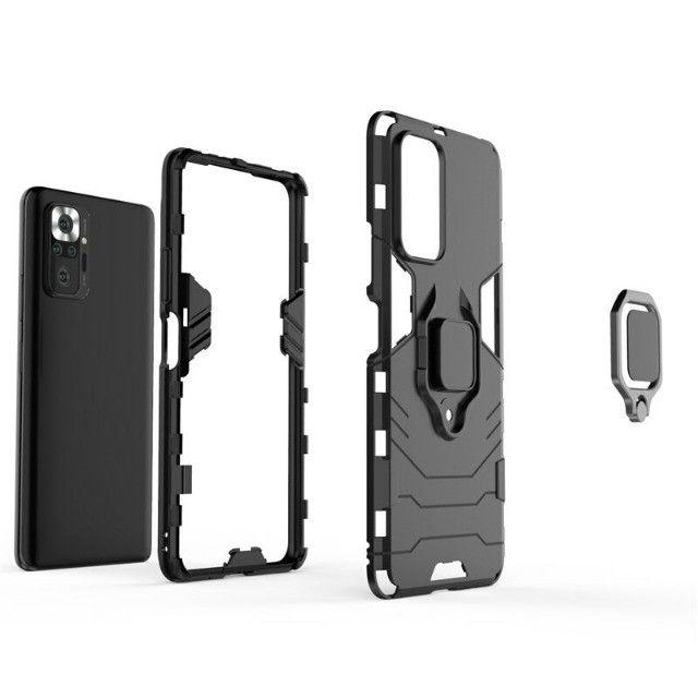 Capa 4 em 1 Anti Impacto Choque Militar Xiaomi Note 10 pro / 10 pro max, aceito cartão - Foto 4
