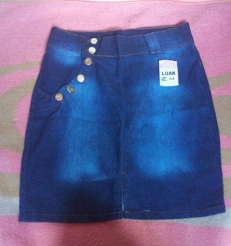 Saia jeans secretaria moda evangélica  - Foto 5