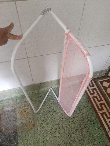 Vendo Grade de proteção de cama rosa infantil 50 - Foto 2