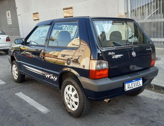 FIAT UNO 1.0 MPI MILLE WAY ECONOMY 8V - Foto 2