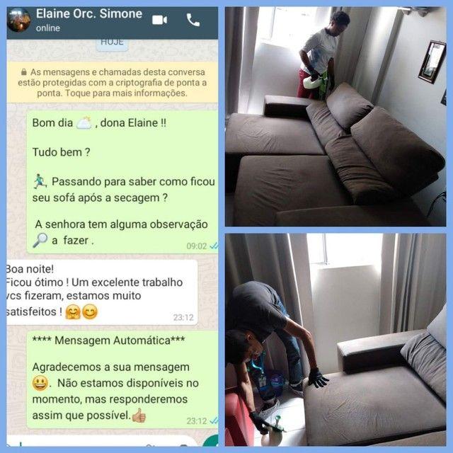 Lavagem a seco. Seu sofá como NOVO! - Foto 2