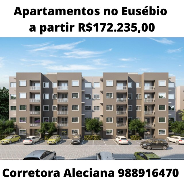 Apartamentos no Eusébio - A partir R$172.235,00
