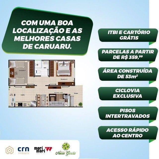 casas prontas em caruaru , saia do aluguel more no que é seu !!!! - Foto 6