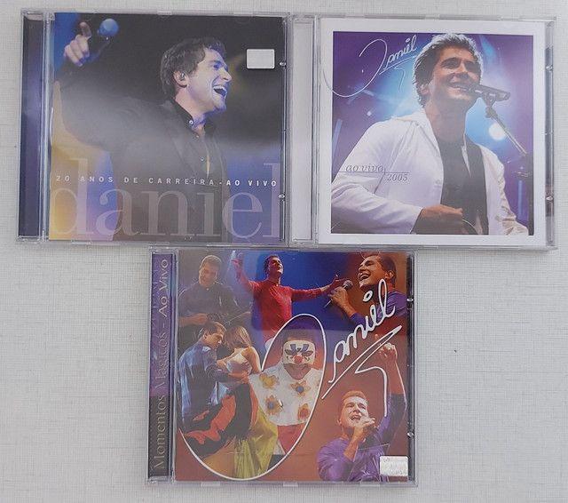 Coleção 13 CDs DANIEL - incluindo CD autografado - PERFEITO ESTADO!!! - Foto 4