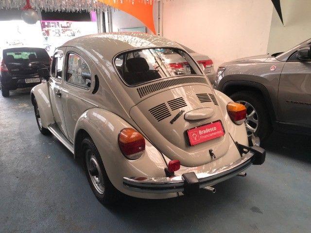 VW Fusca 1600 - Placa Preta - Colecionador - Foto 4