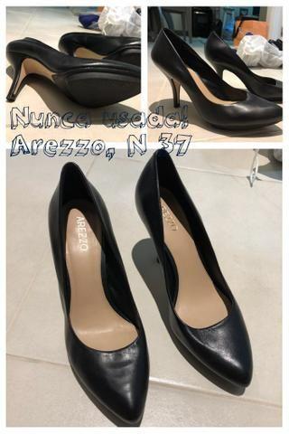 Vendo sapatos de grife novos ou pouco usados