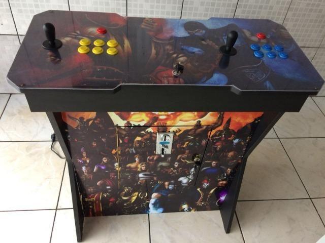 Fliperama Arcade Multijogos Sensor Óptico 0 Delay Todos os Jogos Clássicos - Foto 6