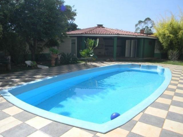 Samuel Pereira oferece: Casa 4 Quartos 2 Suites Sobradinho Piscina Churrasqueira Sauna - Foto 3